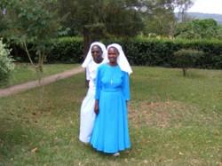 Sister Goretti and Sister Elizabeth