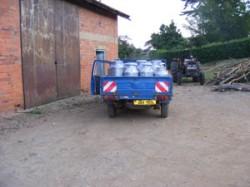 30 year milk transport vehicle